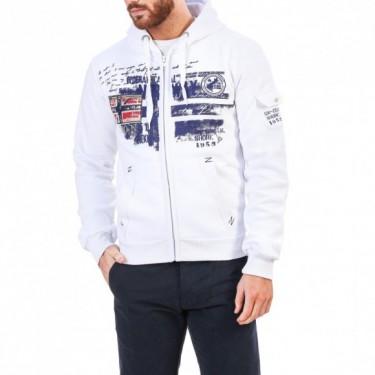Sweatshirts Fohnson  blanc-bleu