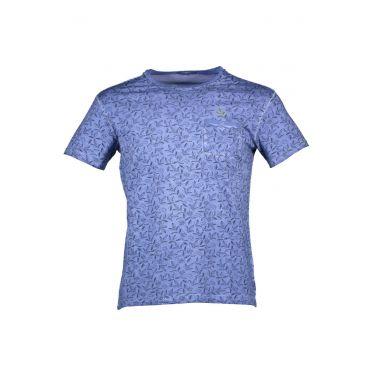 T-SHIRT manches courtes bleu clair