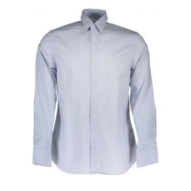 Chemise à manches longues Blanc