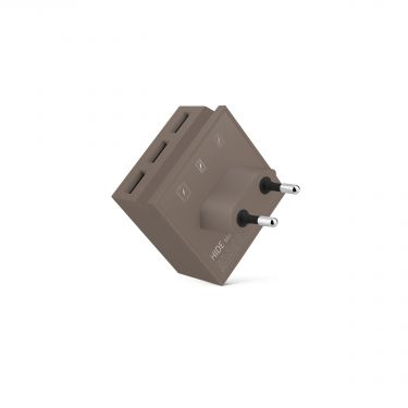 Chargeur Mini Hide taupe