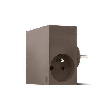 Chargeur Hide taupe