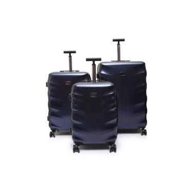 SYDNEY-Set de 3 valises Bleu
