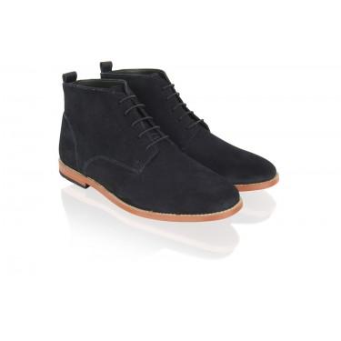 Boots à lacets Navy