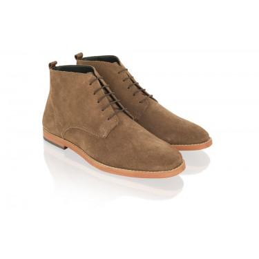 Boots à lacets Camel