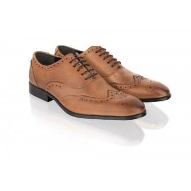 Chaussures Oxford Camel