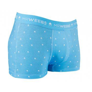 Boxer bleu clair