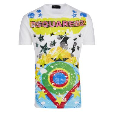 Dsquared 2 T-shirt-white