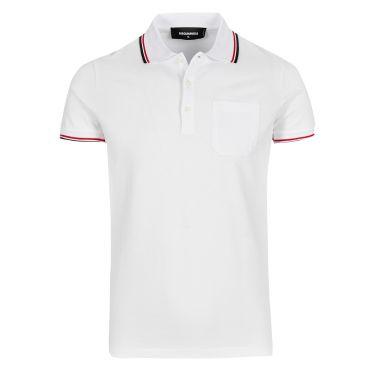 Poloshirt-white