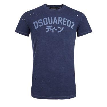 T-shirt-dark blue