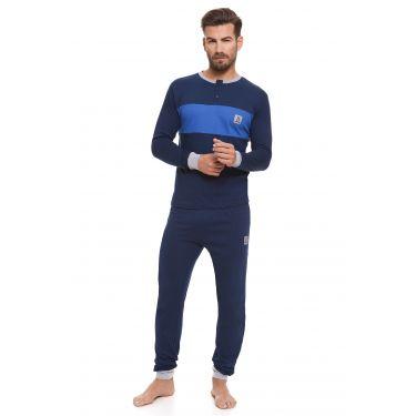 Pyjama Bleu LANCETTI-LJ490