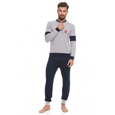 Pyjama Gris LANCETTI-LJ491