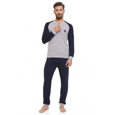 Pyjama Bleu LANCETTI-LJ492
