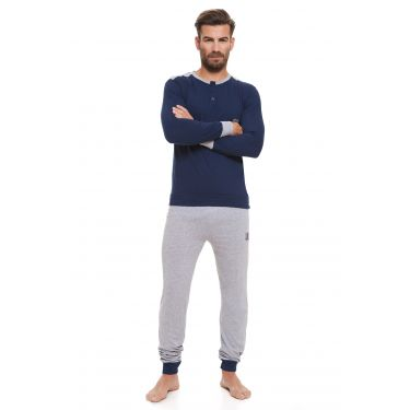 Pyjama Bleu LANCETTI-LJ493