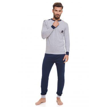 Pyjama Gris LANCETTI-LJ493