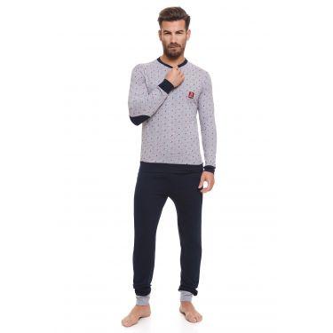 Pyjama Gris LANCETTI-LJ495