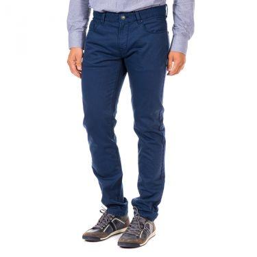 Pantalon en toile bleu marine