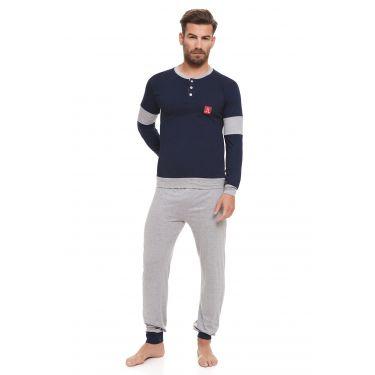 Pyjama Bleu LANCETTI-LJ491