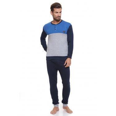 Pyjama Gris LANCETTI-LJ494