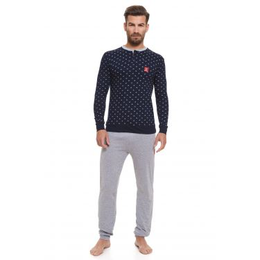 Pyjama Bleu LANCETTI-LJ495