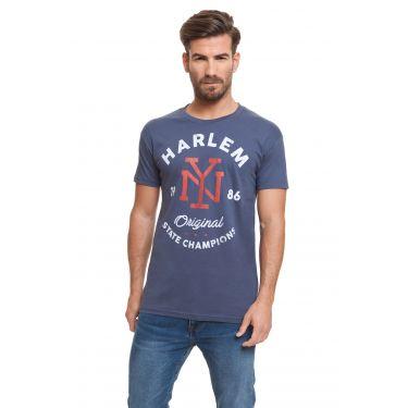 T-shirt harlem denim