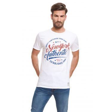 T-shirt authentic blanc