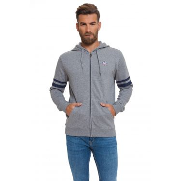 Sweat à capuche Gris AI24
