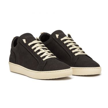 AMALFI LOW BLACK SUEDE