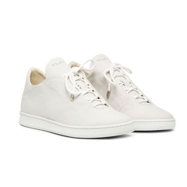 VIRGILIO LOW WHITE SUEDE
