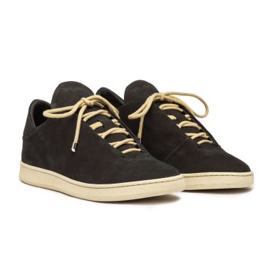 VIRGILIO LOW BLACK SUEDE