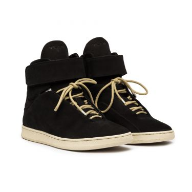 VIRGILIO HIGH BLACK SUEDE