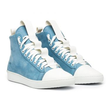 SORRENTO HIGH BLUE SUEDE
