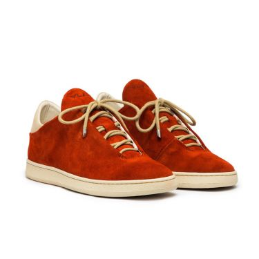 VIRGILIO LOW RUGGINE SUEDE