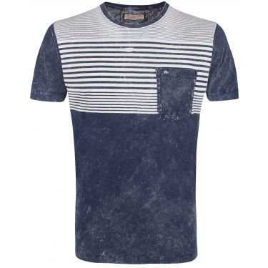 T-shirt bleu navy