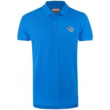 T-shirt bleu electric