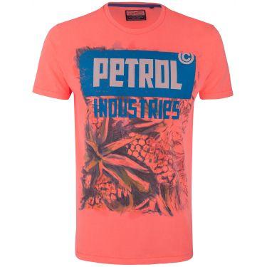 T-shirt Petrol corail