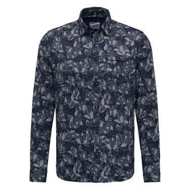 Chemises motifs deep capri