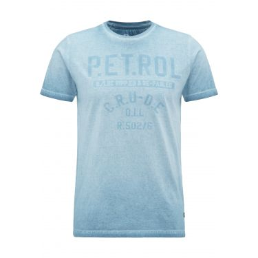 T-shirt bleu smoke