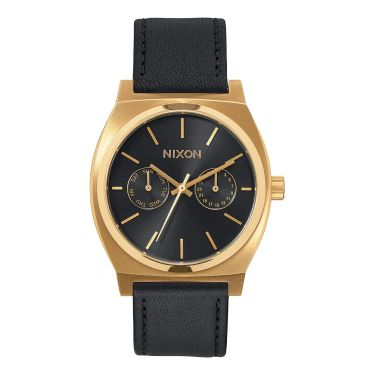 Time Teller Deluxe Leather Gold