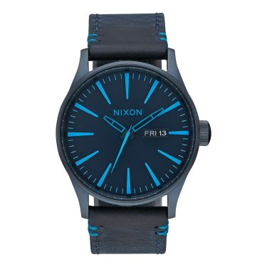 Sentry Leather All Dark Blue