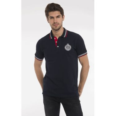 polo logo navy