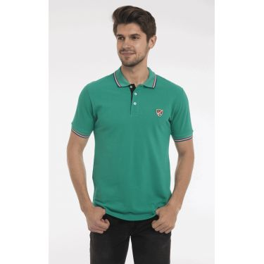 polo vert col BBR
