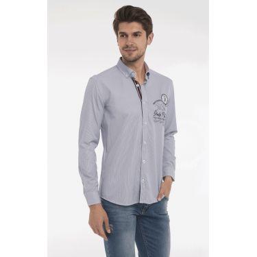 chemise rayé navy rond