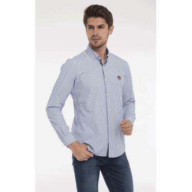 chemise carreaux navy plaid