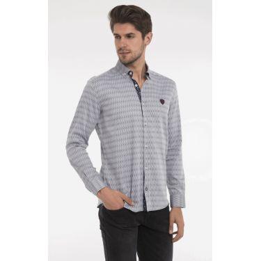 chemise ligne navy