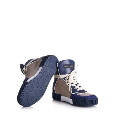chaussure bleu foncé