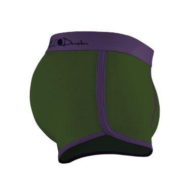 Boxer violet-vert