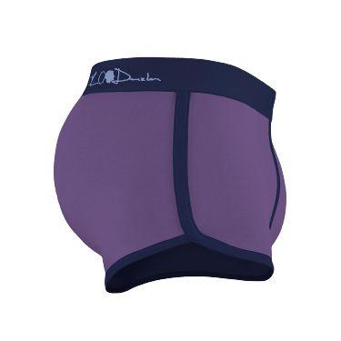 Boxer navy-violet