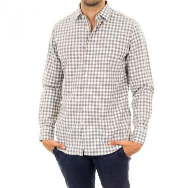 Chemise gris blanc-945