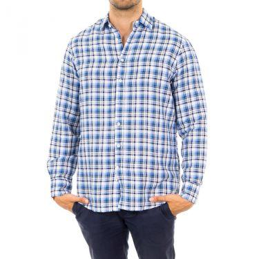 Chemise bleu blanc-5AA
