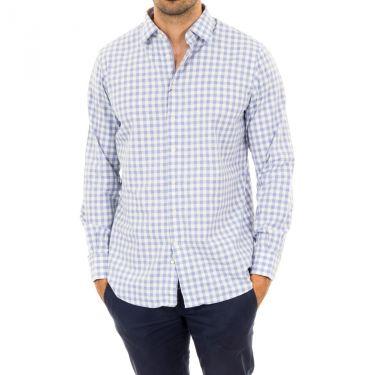 Chemise bleu blanc-513